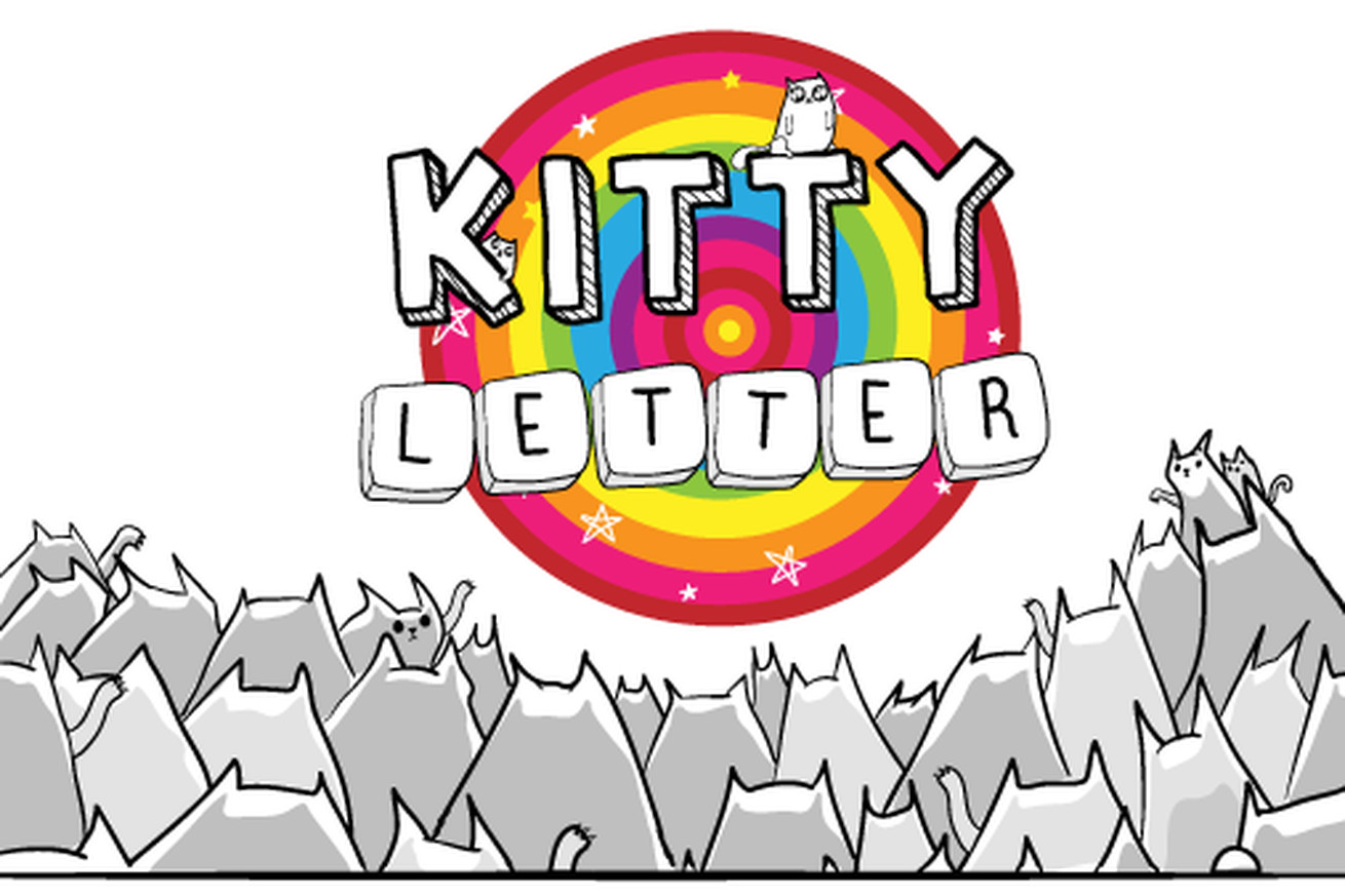 Kitty Letter is a new mobile word game from the creator of The Oatmeal, and it's good
