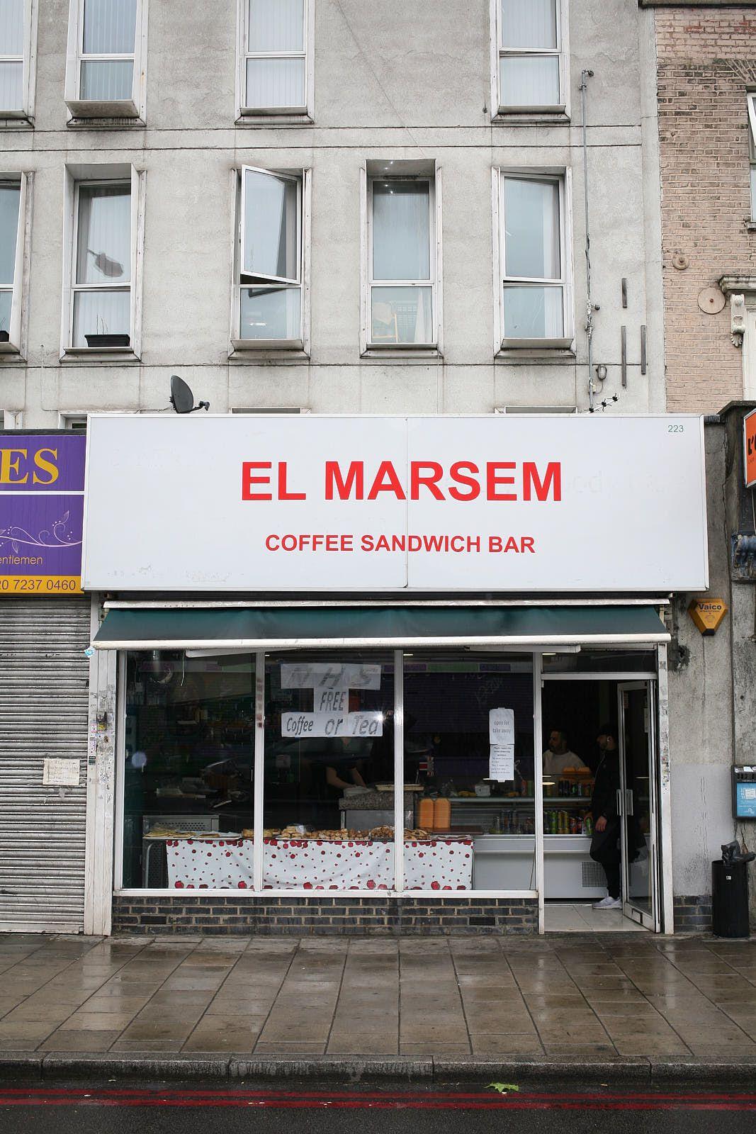 El Marsem, Algerian bakery on Old Kent Road, London
