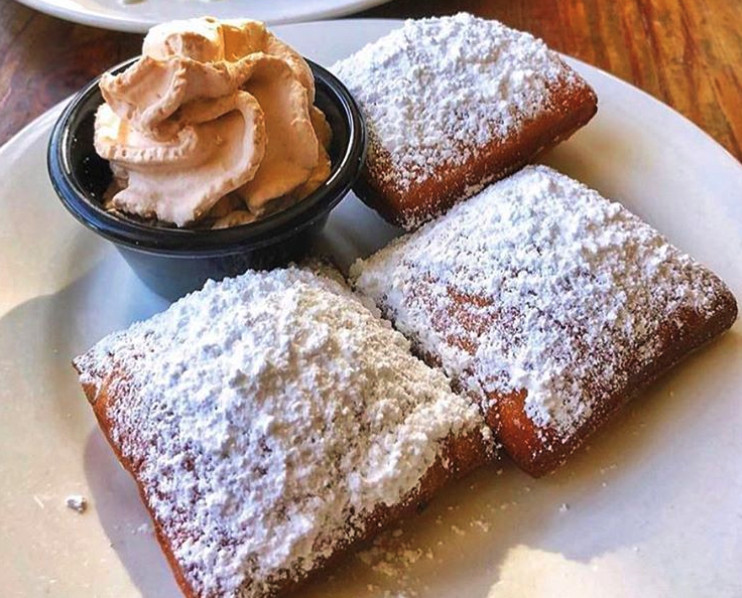 Beignets from Ritter's Steam Kettle Cooking in Alhambra, California