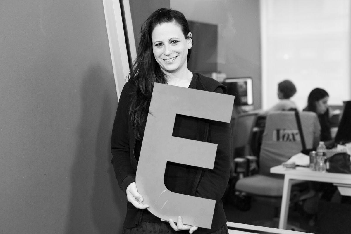 Amanda Cohen in the Eater Upsell studios