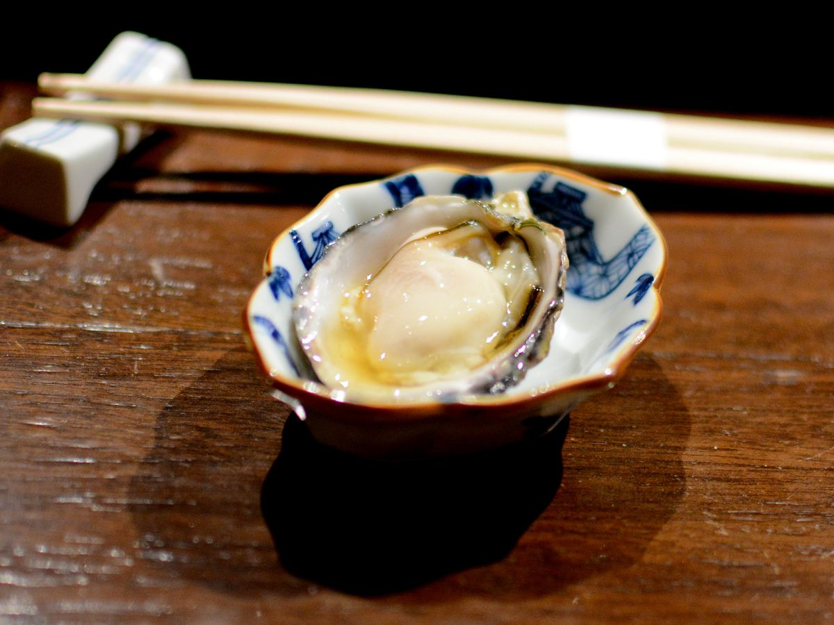 Oyster from Q Sushi