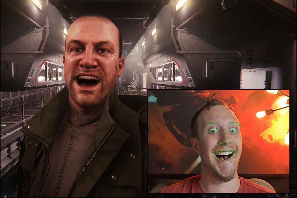 Star Citizen face tech maps your expressions onto your avatar in real