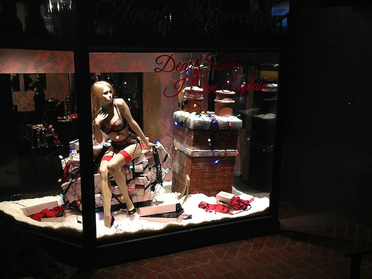 Agent Provocateur is in the holiday spirit, no?