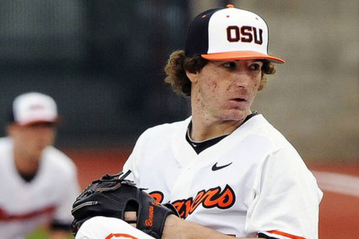 Andrew Moore has his ERA in Pac-12 games down to 0.58. Can he drive it even lower tonight?