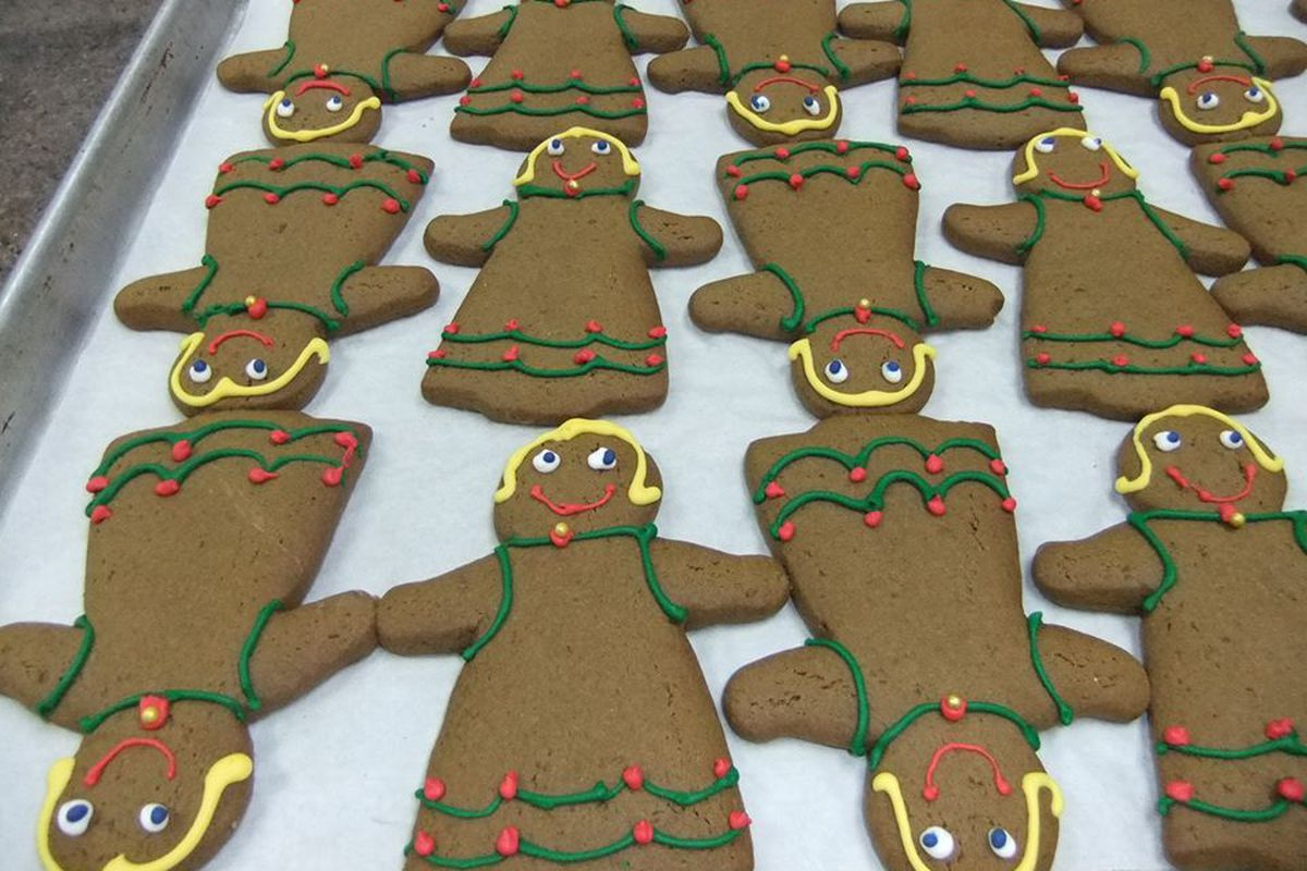 Give Thanks Bakery gingerbread.