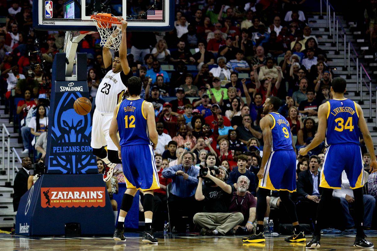 new orleans pelicans vs golden state warriors tv schedule, nba