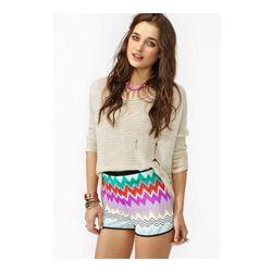 "<a href=""http://www.nastygal.com/clothes-bottoms/ziggy-stripe-shorts""> Nasty Gal Ziggy striped short</a>, $38 nastygal.com"