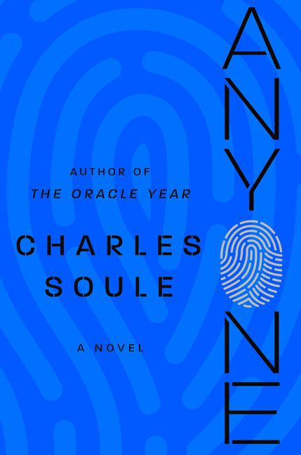 The Anyone cover, a fingerprint on a blue background