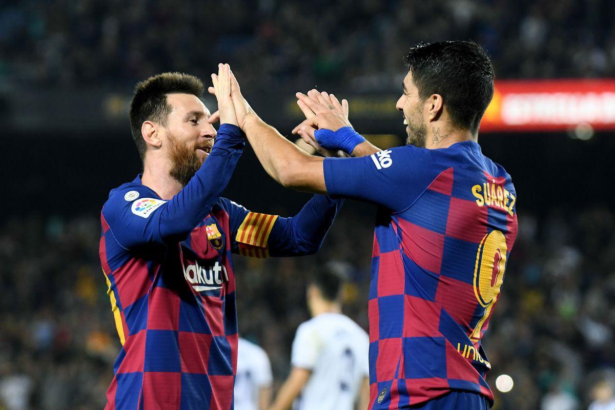 FC Barcelona v Valladolid - Liga