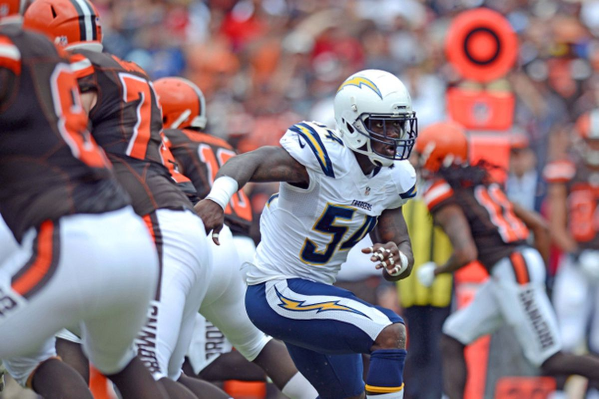 How the Chargers Can Replace Melvin Ingram Bolts From The Blue