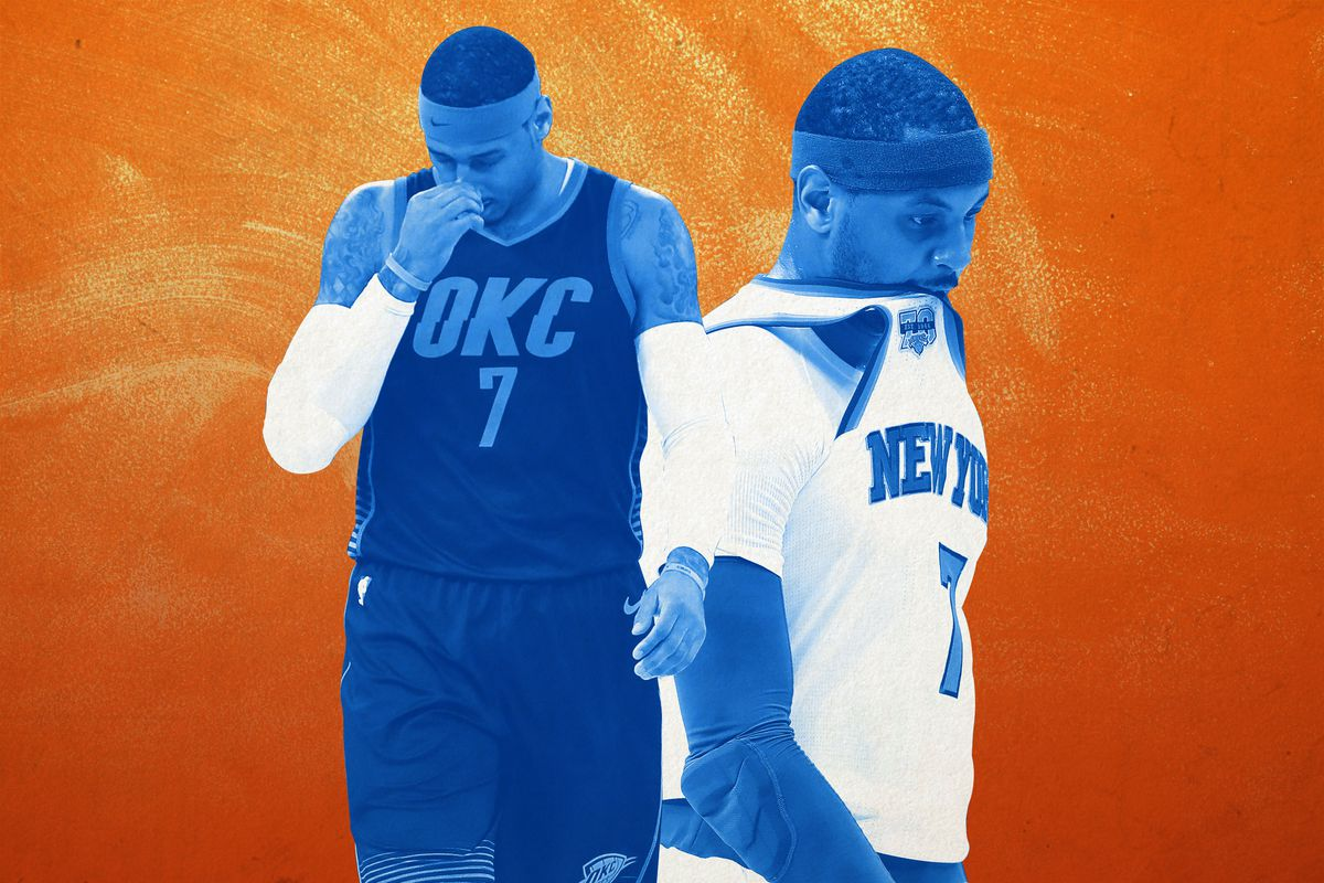 d45587bffcf6 Carmelo Anthony s Failed OKC Experiment - The Ringer