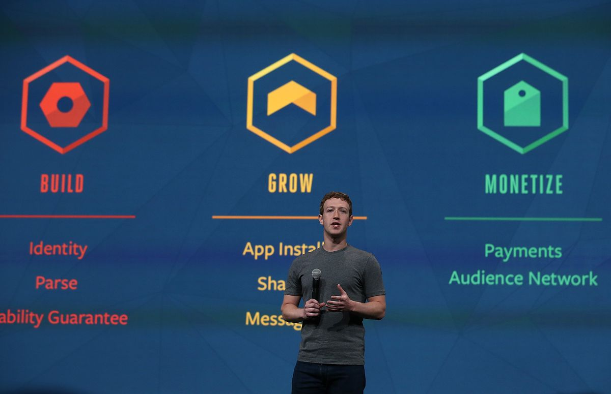 Facebook Holds f8 Developers Conference