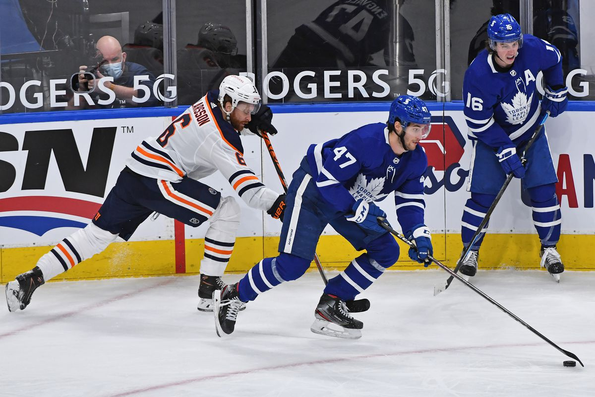 NHL: MAR 27 Oilers at Maple Leafs