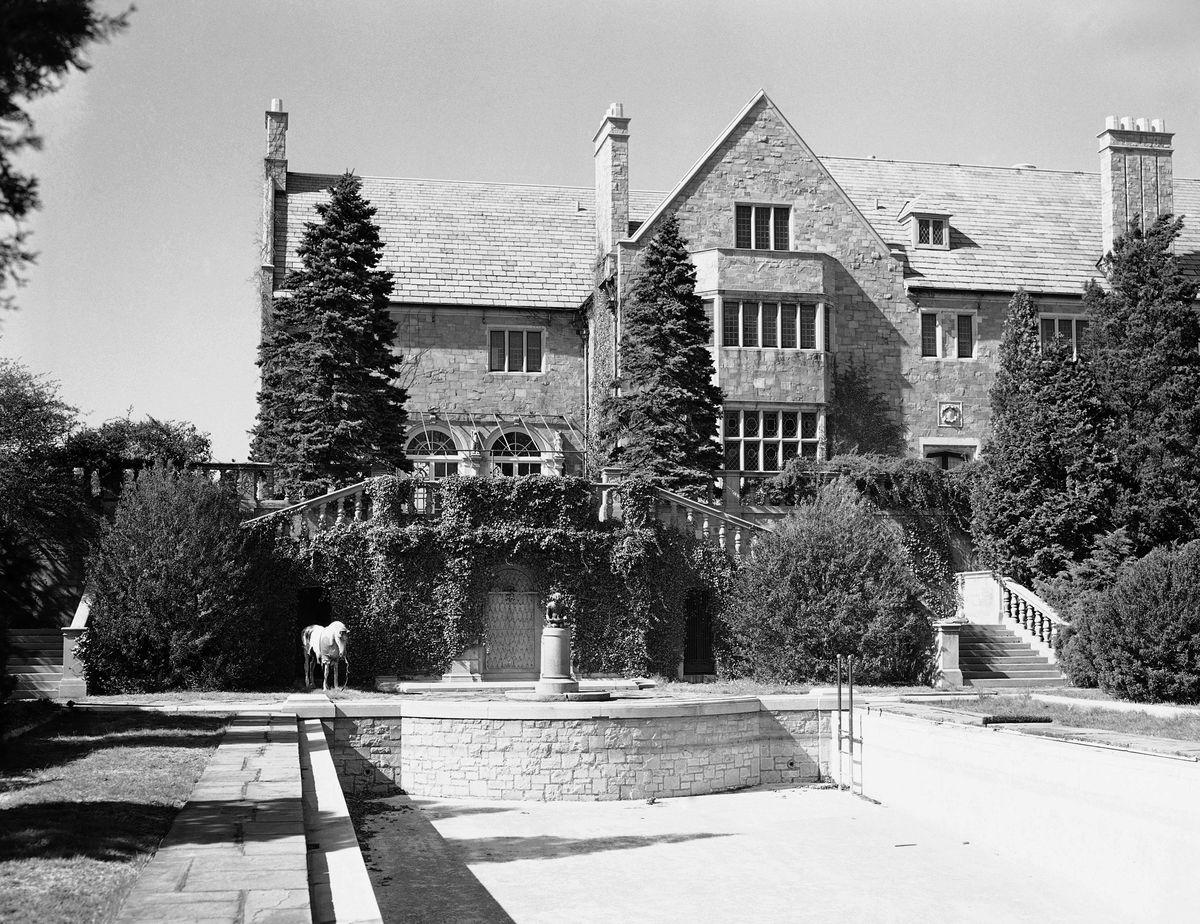 Kenilworth, the 49-room English Renaissance Estate formerly owned by the late George Dupont Pratt