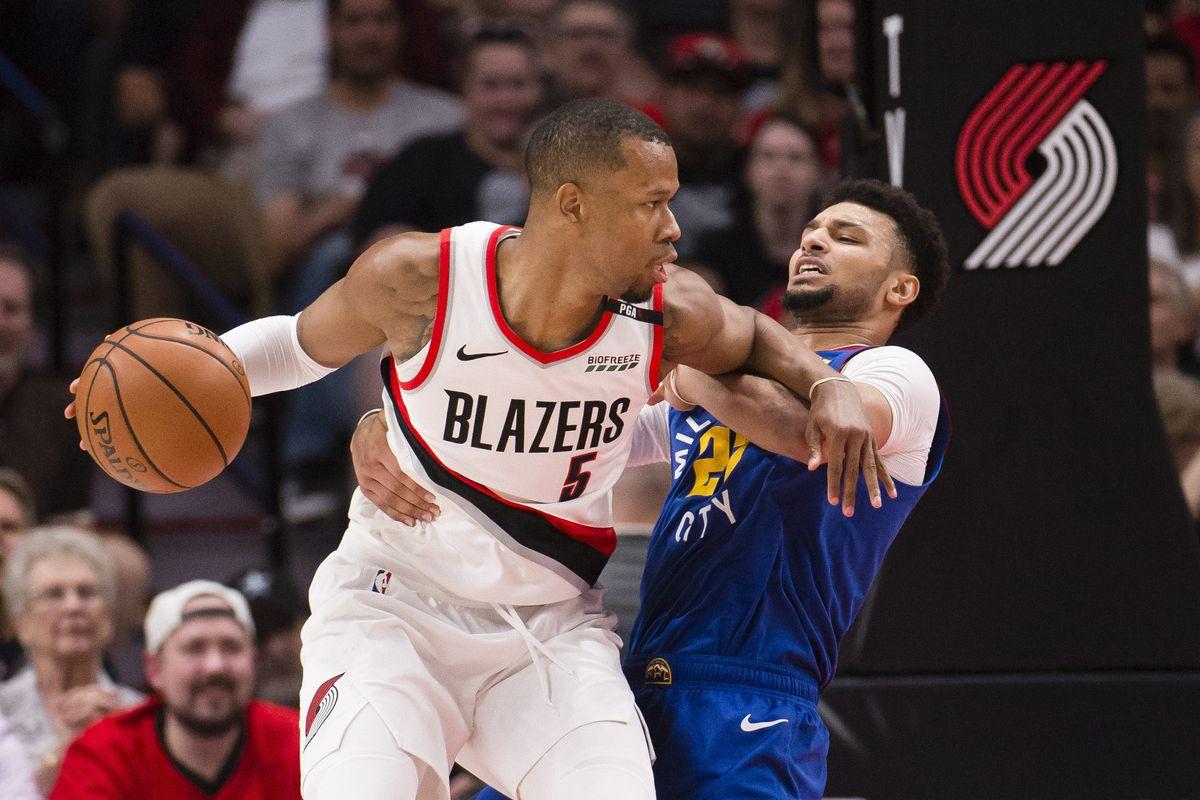 NBA: Playoffs-Denver Nuggets at Portland Trail Blazers