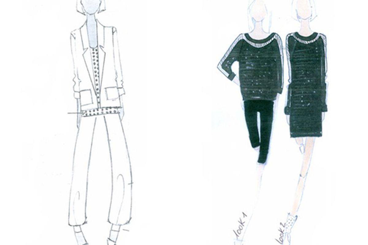 """Some of Gwyneth Paltrow's designs.  Images via <a href=""""http://www.wwd.com/fashion-news/fashion-scoops/gwyneth-paltrow-design-louis-vuittons-moonwalker-2084827?src=rss/fashion/20090330"""">WWD</a>"""