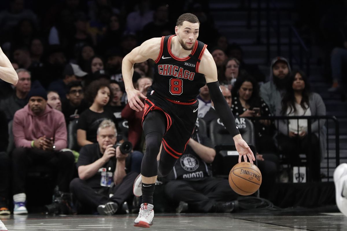 """""""I'm not worried about my contract right now. That will be a point and time in the future,"""" the Bulls' Zach LaVine said."""