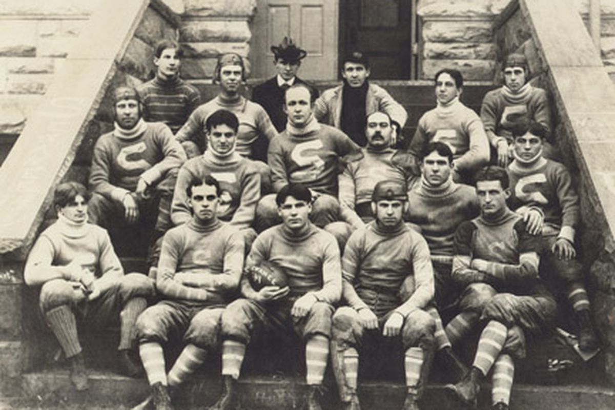 It is a feat that will never be equaled. In 1899 the football team for the  University of the South traveled 2,500 miles and played five games in six  days.