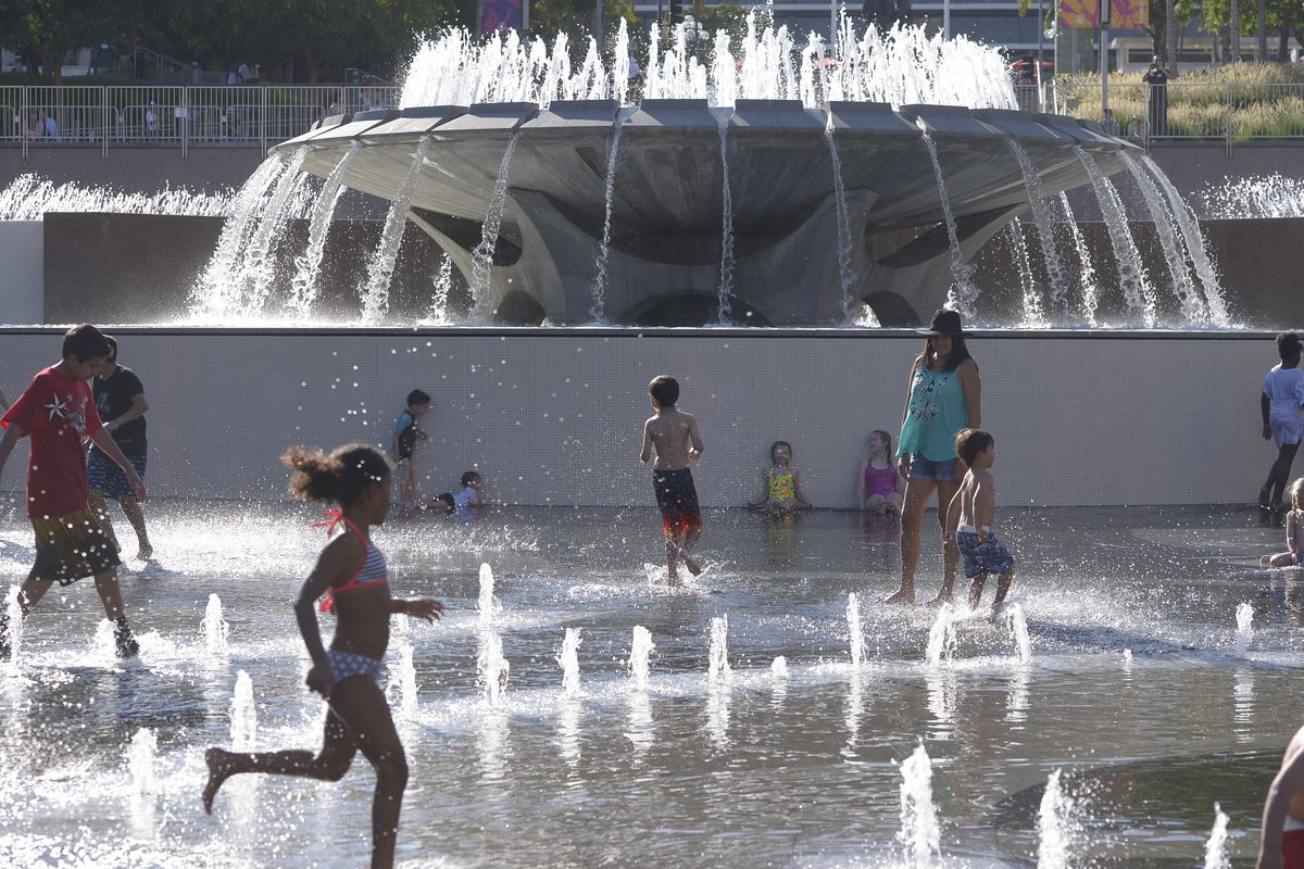 Backyard Splash Pad Cost splash pads are the new public pools - curbed