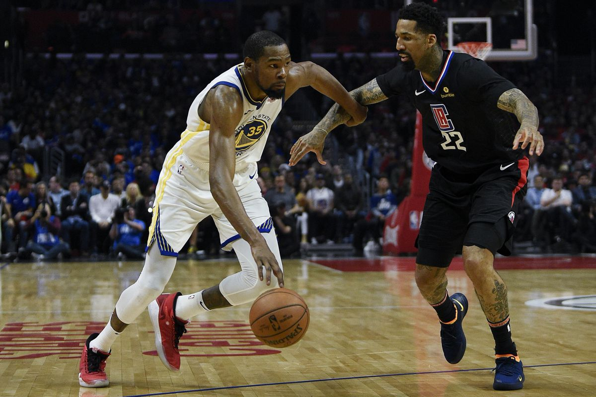 Image result for warriors vs clippers 2019