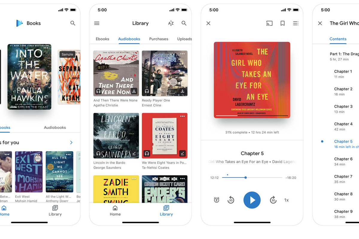 Google updates its Play Books iOS app at the same time as Apple's