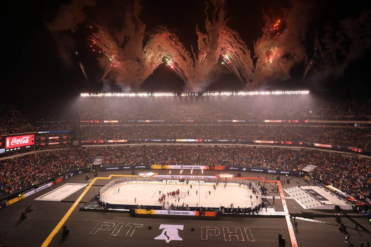 NHL: Stadium Series-Pittsburgh Penguins at Philadelphia Flyers