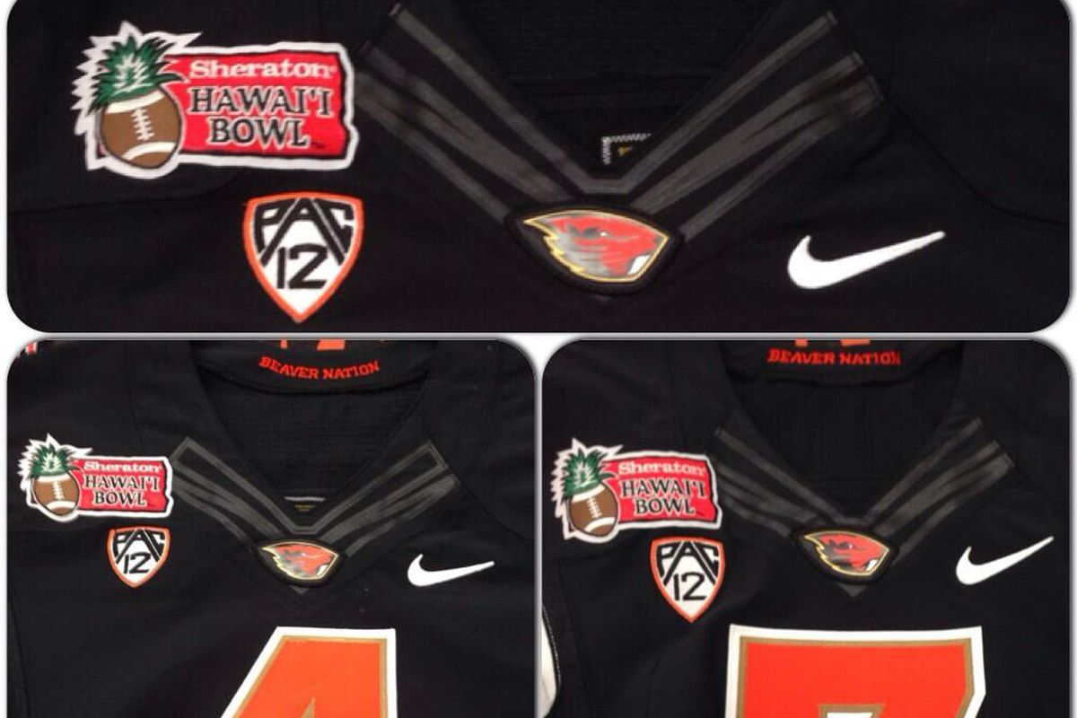 """Oregon St. will be the """"home"""" team for the Sheraton Hawaii Bowl. Though you might not be able to tell that."""