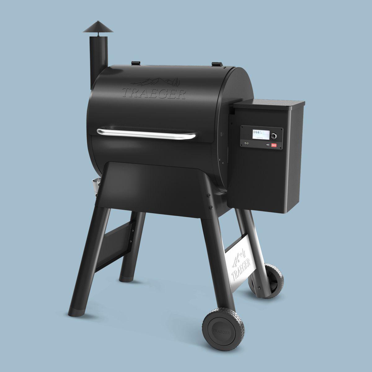 Summer 2021, Smart Home, pellet grill