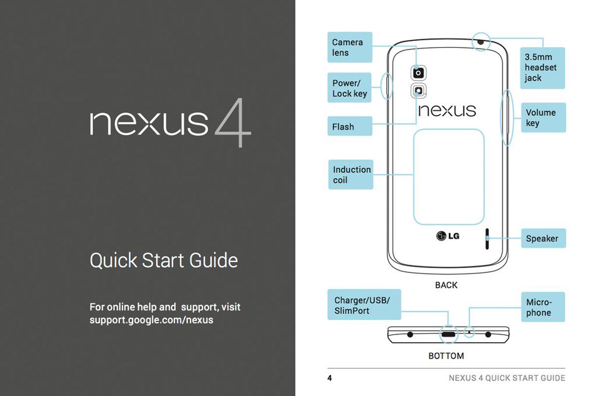 LG Nexus 4 manual comp