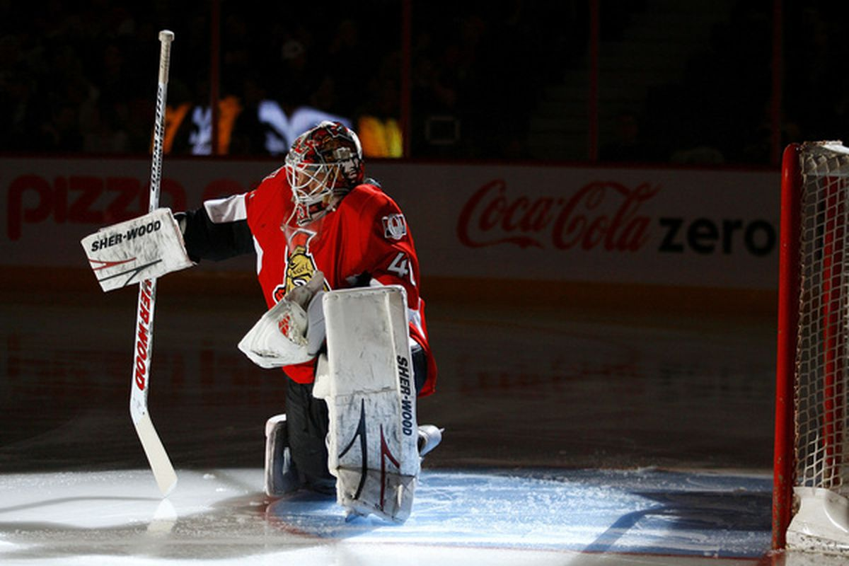 Ottawa Senators goalie Robin Lehner has been integral in the Sens continued success after losing key players to injury.