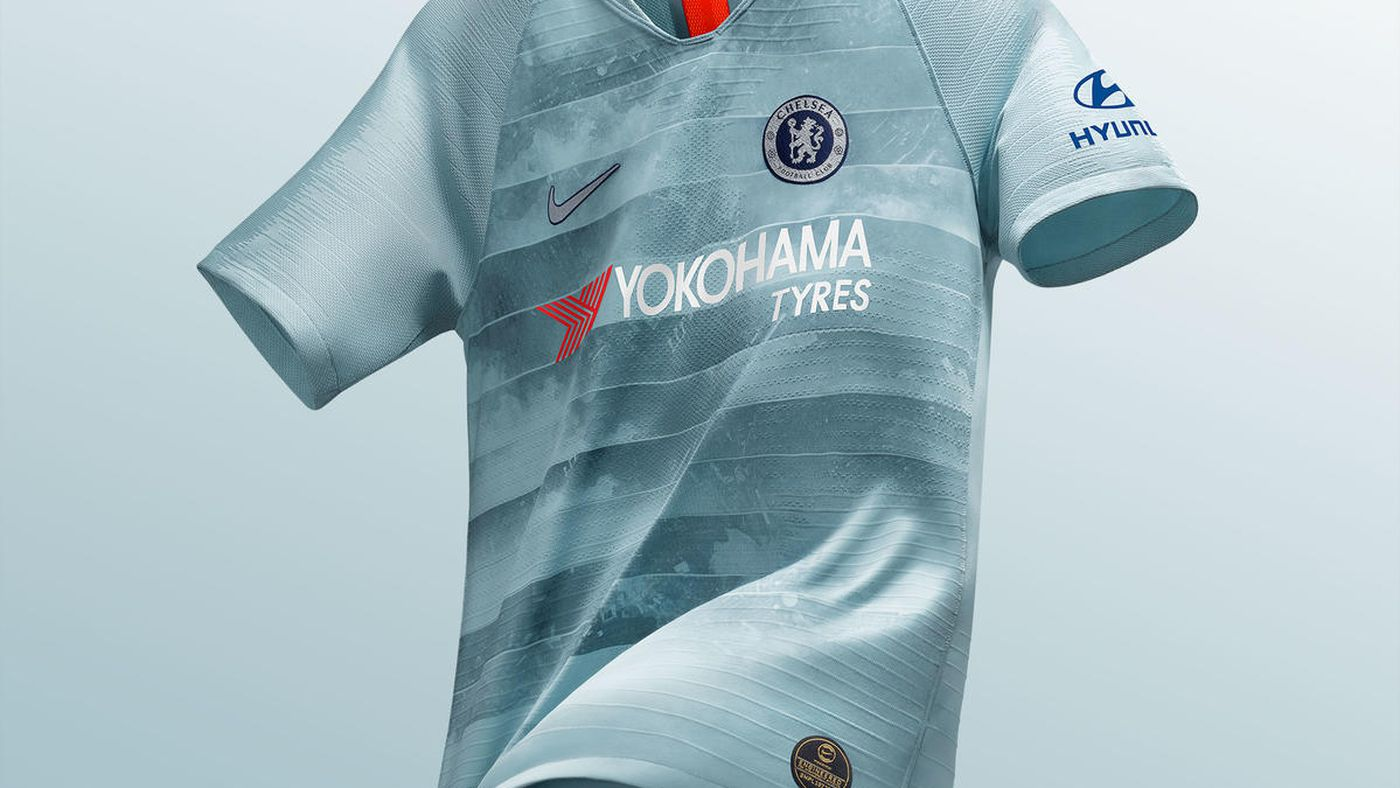 low priced 4204a 94b41 Chelsea launch rather unique 2018-19 third kit, featuring ...