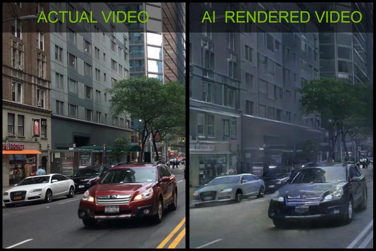 Nvidia has created the first game demo using AI-generated