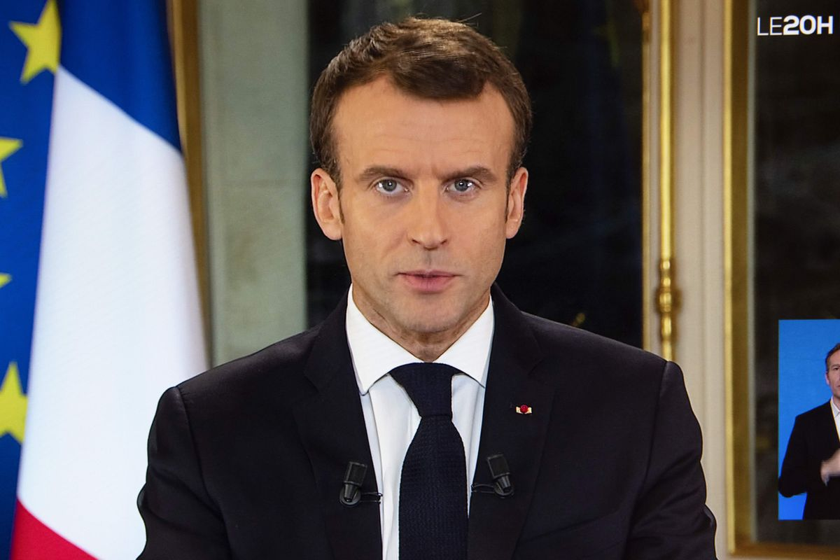 Macron speech: French president announces concessions to