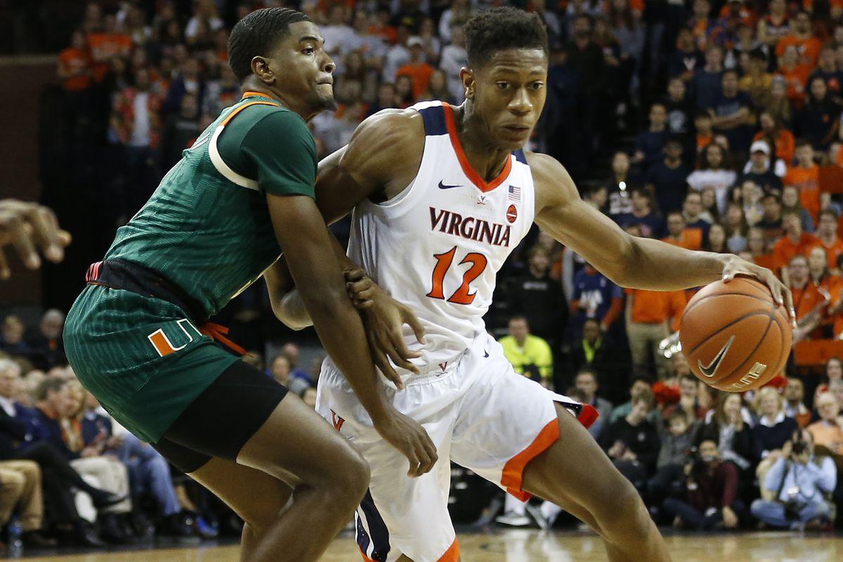 NCAA Basketball: Miami-Florida at Virginia