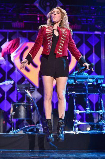 Ellie Goulding at Jingle Ball