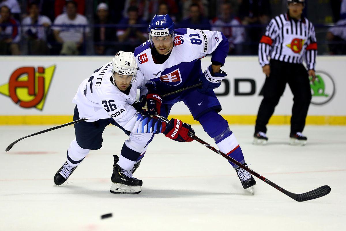 United States v Slovakia: Group A - 2019 IIHF Ice Hockey World Championship Slovakia