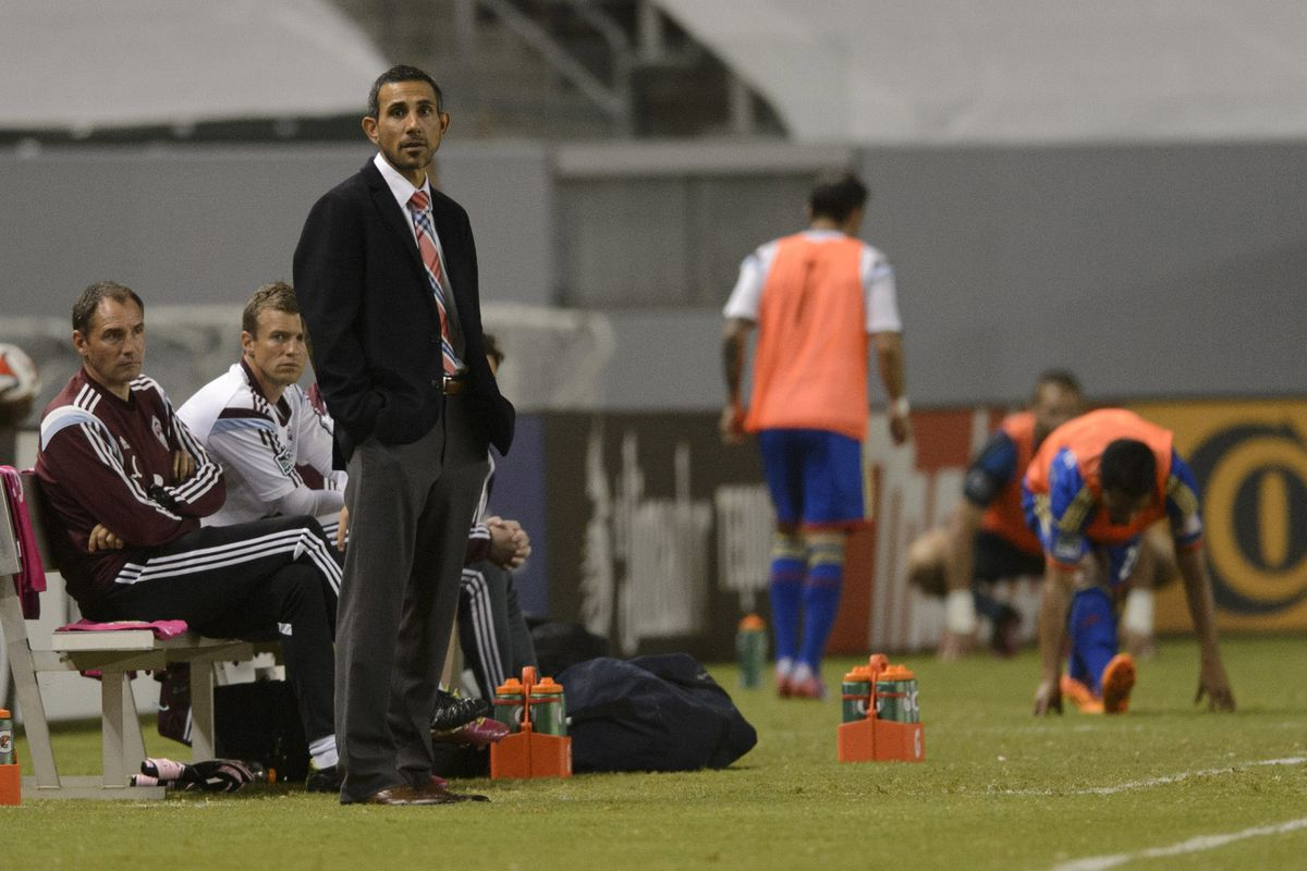 Coach Pablo Mastroeni sees more of the same against Chivas USA, as the Rapids lose 2-1 at the StubHub.