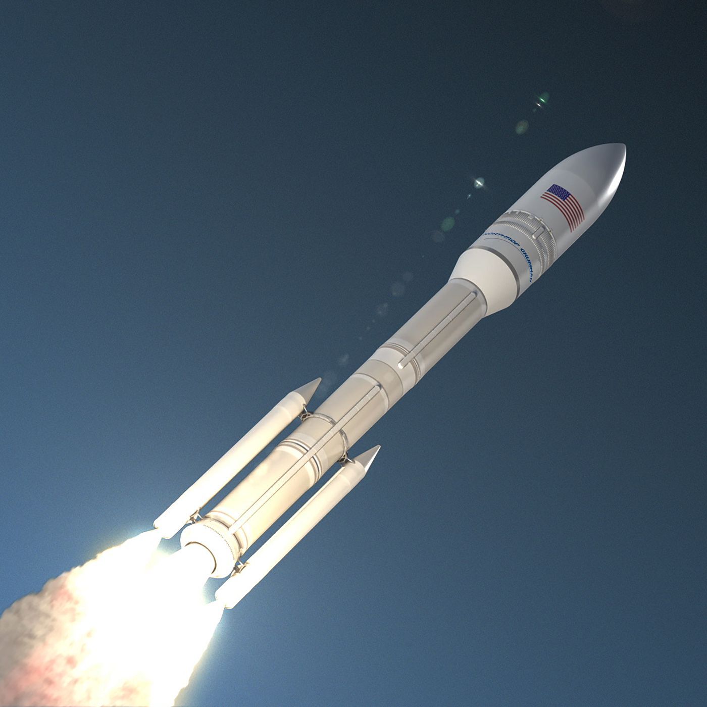 Northrop Grumman's new rocket suffers small explosion during