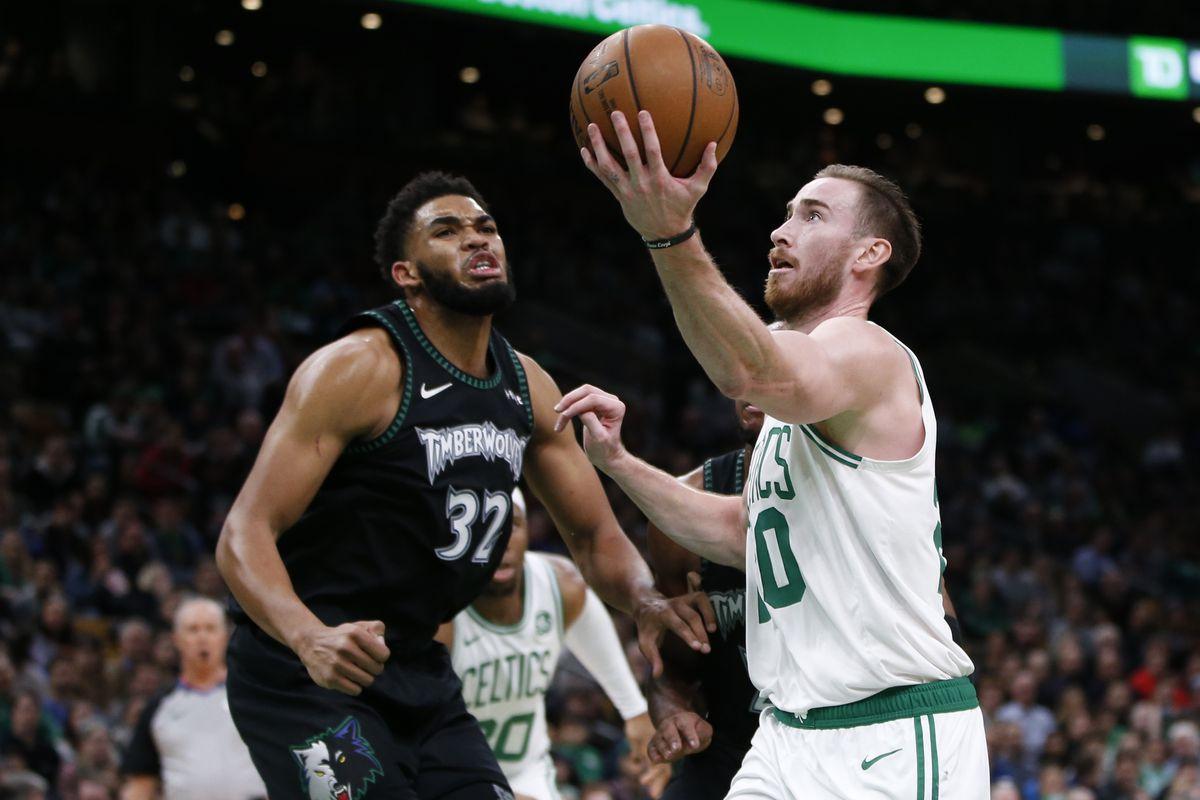 Celtics 115 Wolves 102 Hayward Runs Wild Canis Hoopus
