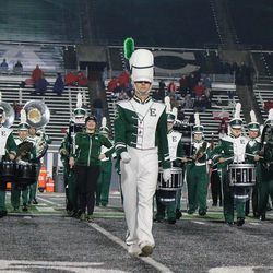 The Eastern Michigan band proved to be entertaining as well.<br>