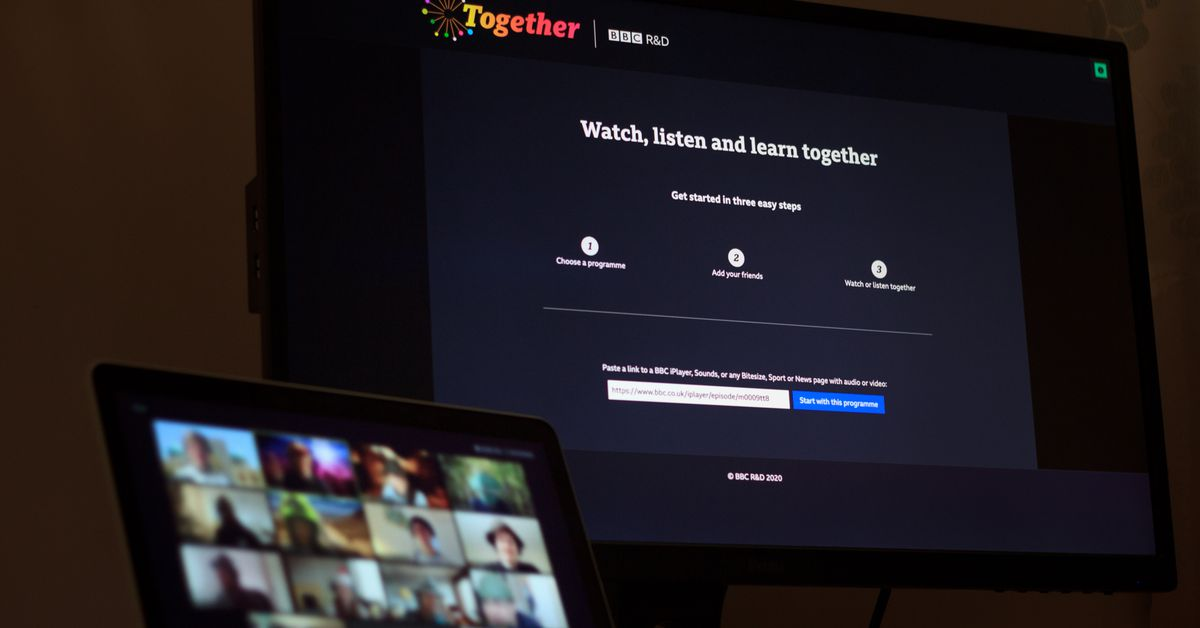 BBC launches tool for watching shows together in lockdown