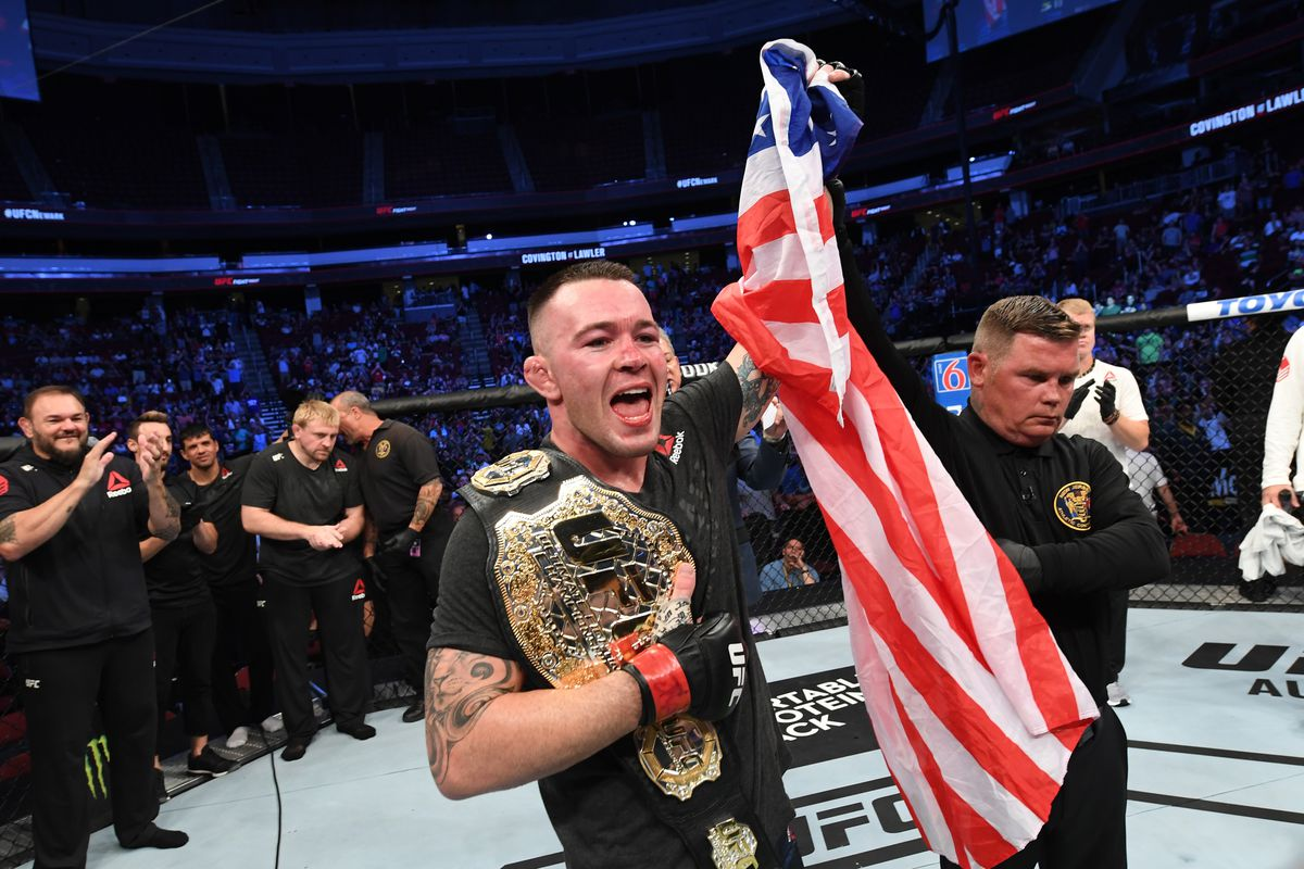 Colby Covington: Lawler fight cements my legacy as 'the best welterweight in the world'