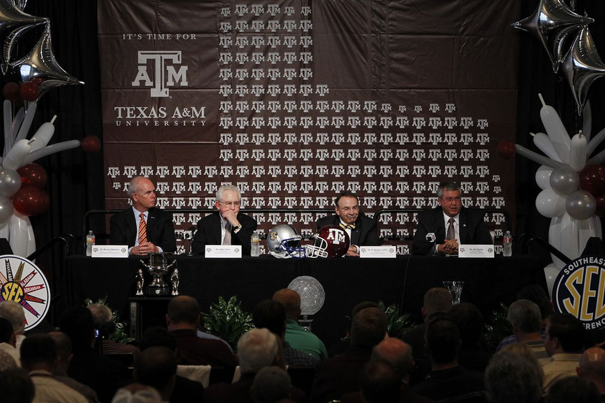"""This moment led to a $5.2 million """"subsidy"""" for Texas A&M athletics."""