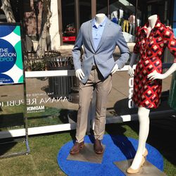 Two favorites looks from the Banana Republic x Mad Men collection.