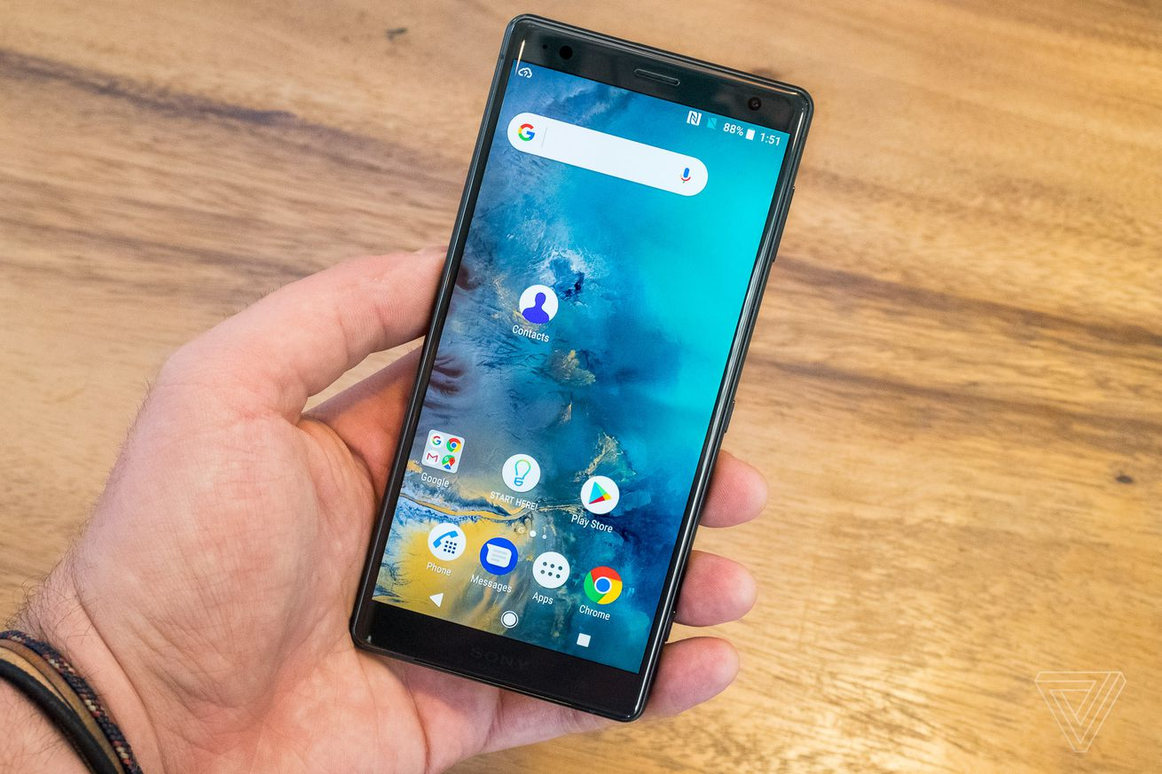 sony starts rolling out android pie updates with the xperia xz2 and xz2 compact
