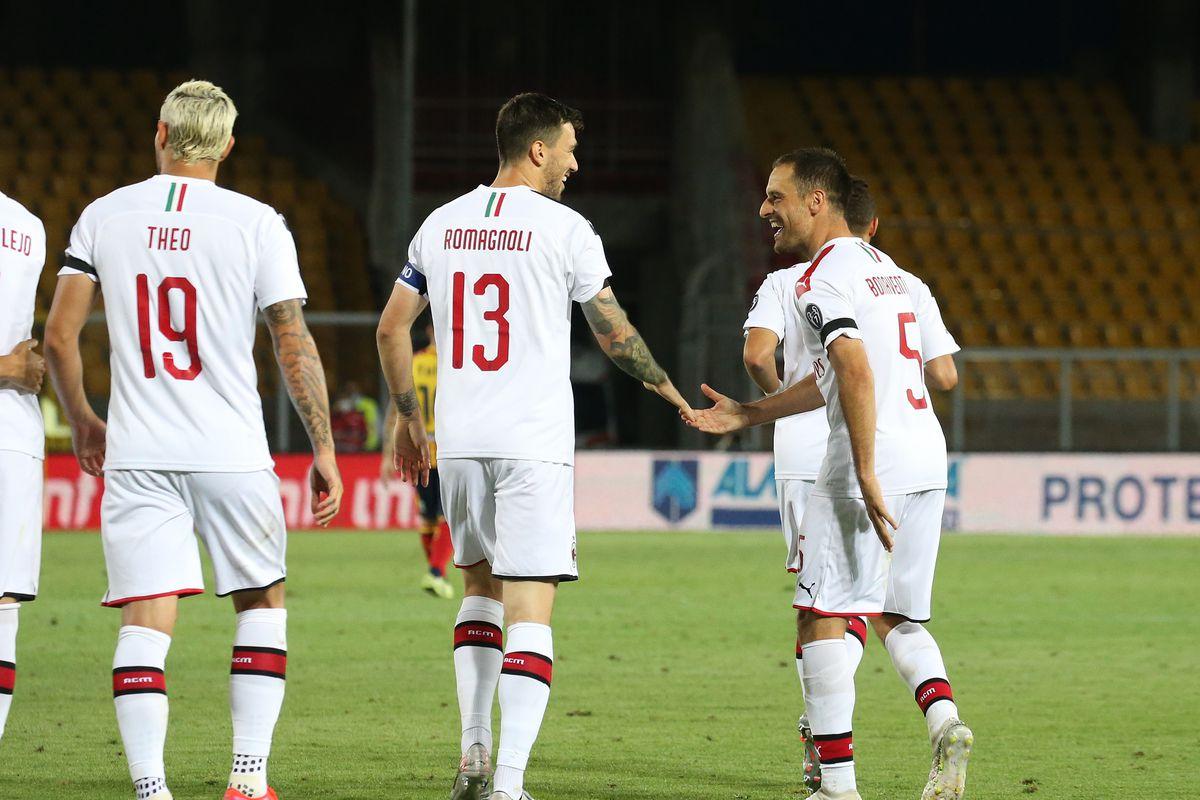 US Lecce v AC Milan - Serie A