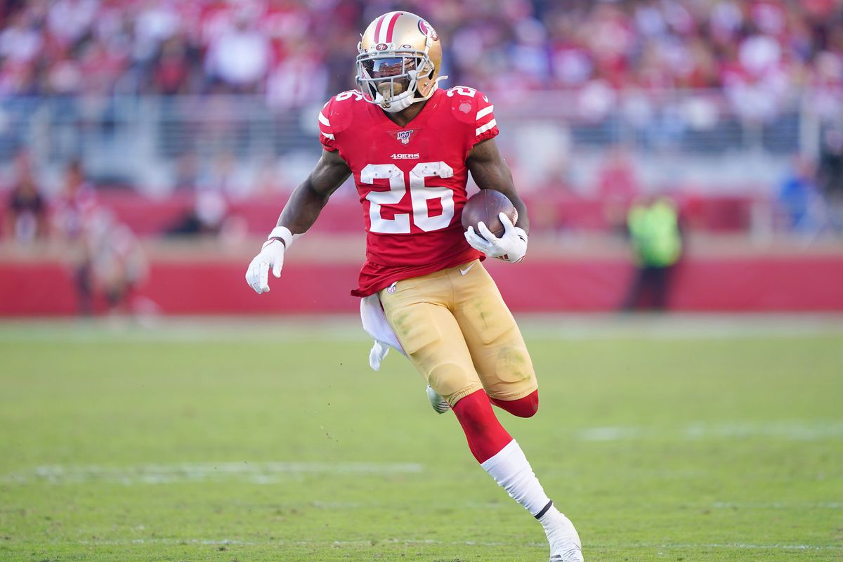 Tevin Coleman fantasy football stats: 49ers RB gets on the board ...