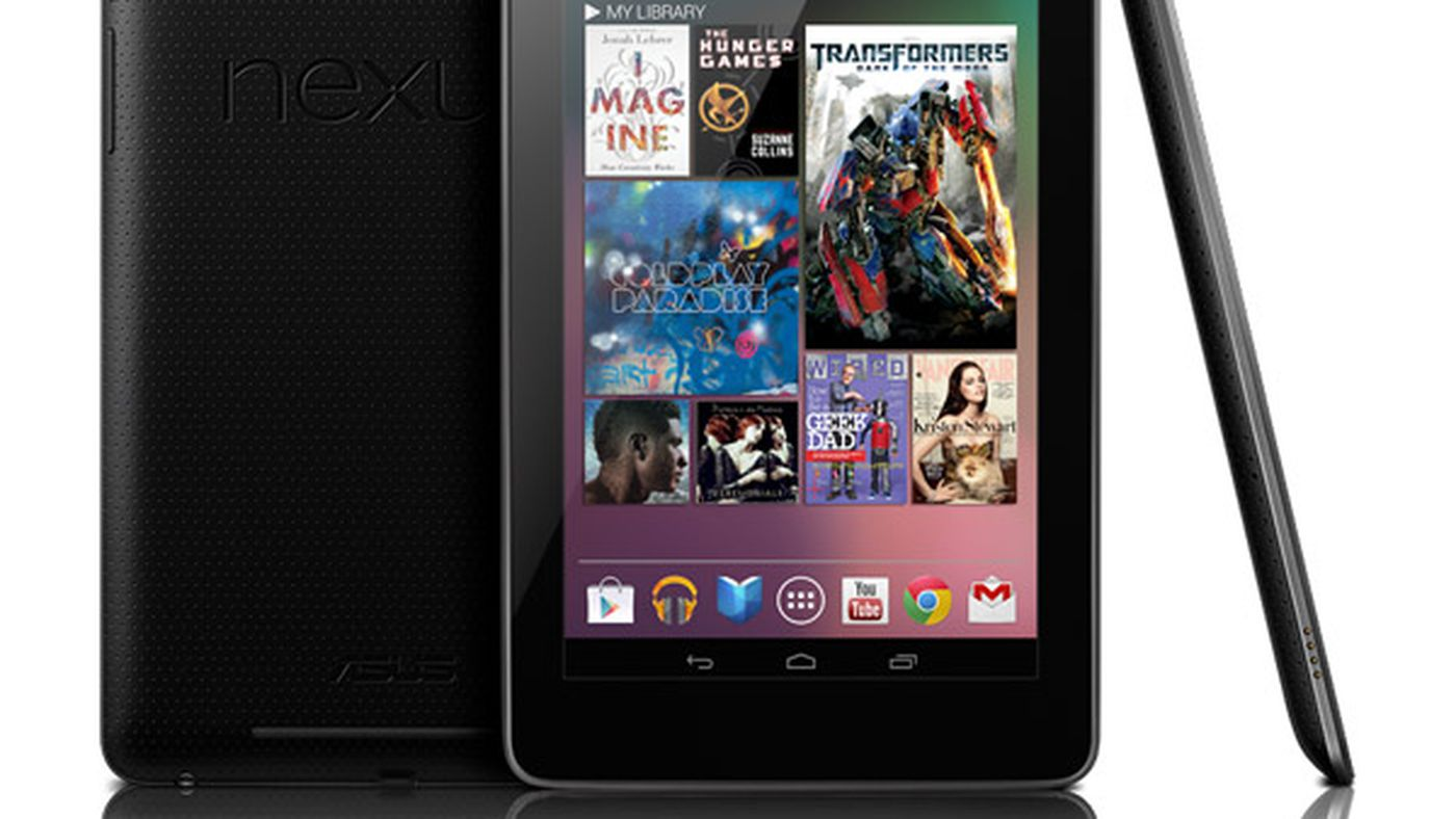 Google Nexus 7 Official 199 Tablet From Asus Ships Mid July With Android 4 1 Jelly Bean The Verge