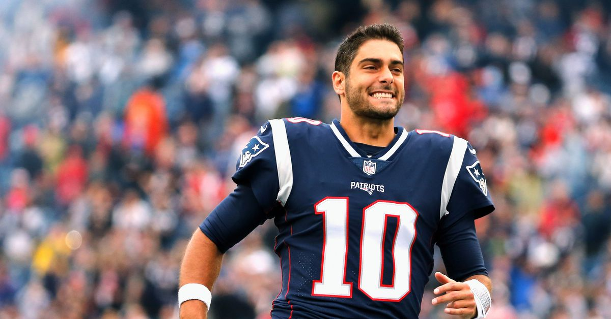 """Golden Nuggets: Bedard says 49ers QB Jimmy Garoppolo is """"far and away"""" the Patriots Plan A at QB for '21 - Niners Nation"""