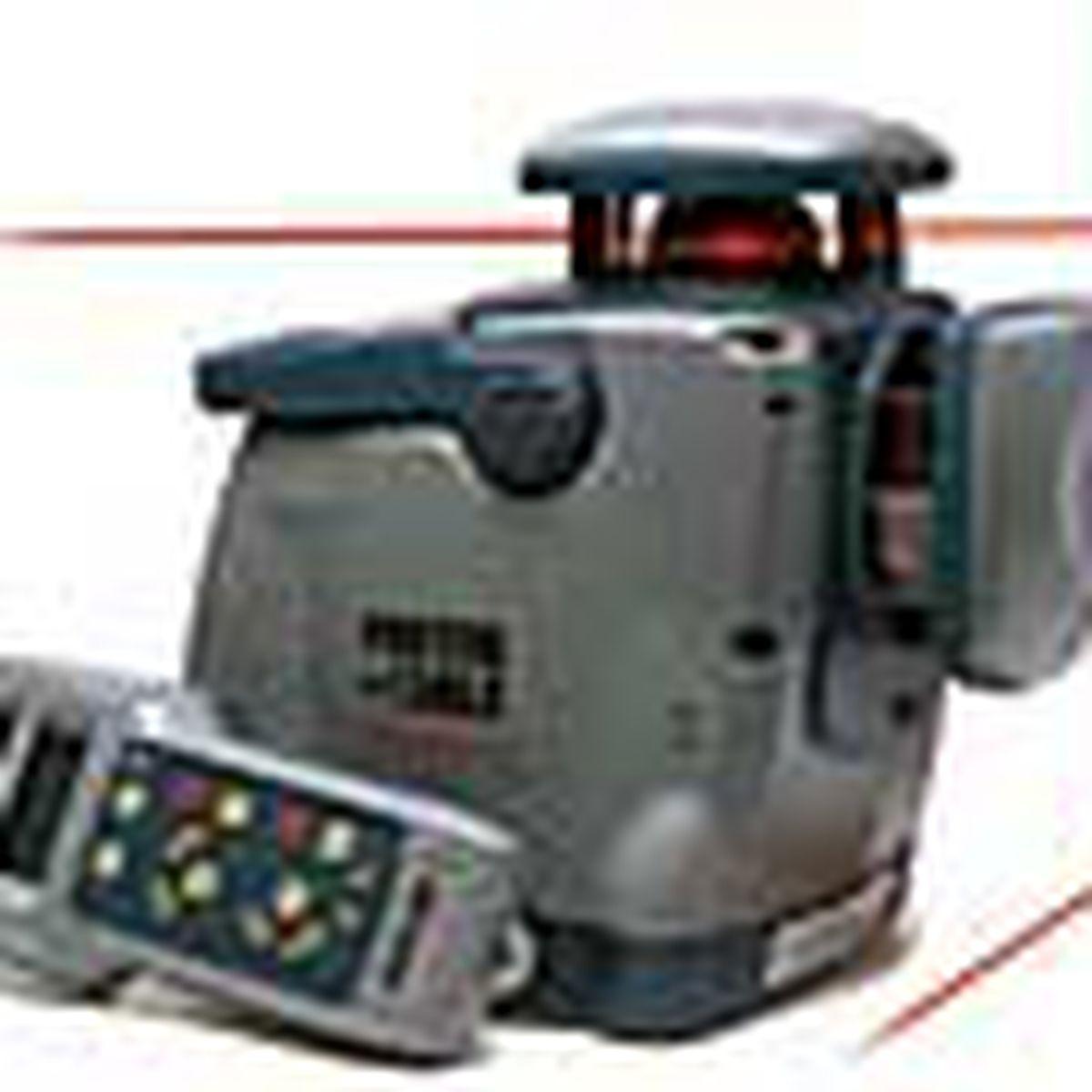 laser rotating level